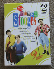The Three Stooges 9 Hilarious Episodes 2 disc Set  movie DVD