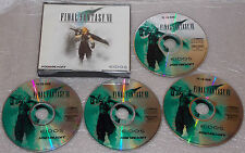 Final Fantasy VII 7 - Windows PC - 4 CD-ROM - Squaresoft - Eidos - Rollenspiel