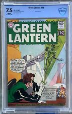 Green Lantern #12 (1962) CBCS 7.5 -- White pgs; 1st 58th century story; Like CGC