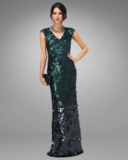 PHASE EIGHT BNWOT GALINA Green Sequin Bodycon Maxi Cocktail Dress Size 16