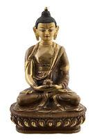 Budda Amitabha Soprammobile Tibetano 14.5 CM Rame Nepal AFR12-2525