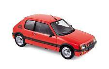 "Peugeot 205 Gti 1.6 ""Vallelunga Red"" 1988 (Norev 1:18 / 184853)"
