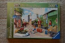 """Jigsaw, """"The Train Driver"""", Ravensburger, 500 Pieces, (Complete)"""