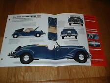 ★★ 1950 Riley RMC Roadster Originale Imp Brochure Specifiche Info 48 49 50 51★★