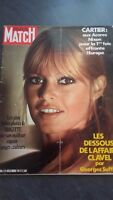 REVUE COLLECTION N°1181 PARIS MATCH B.BARDOT 1971 BE IN FOLIO