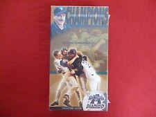 ARIZONA DIAMONDBACKS 2001 WORLD CHAMPIONS VHS TAPE NEW SEALED!