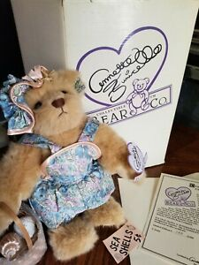 Vintage Annette Funicello Collectible Bear Sea shell Shelley in original box