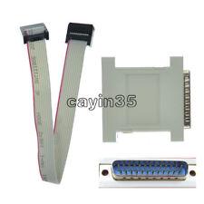Nouveau JTAG Télécharger Câble Xilinx LPT Parallèle programmeur CPLD FPGA XC9572 DB25