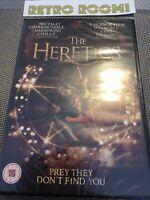 The Heretics DVD (2018) Nina Kiri, Archibald (DIR) cert 15 - New & Sealed