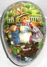"Xxxl 10x6"" Vintage Easter Egg Holly Pond Hill ""Garden Tea"" Mint/Factory Sealed"