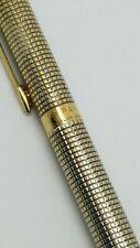 Parker CLASSIC Cisele VERMEIL Sterling Silver GT Ballpoint Pen USA