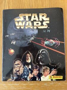 Star Wars Panini Sticker Album 1997 With Wall Poster Near Complete (2)