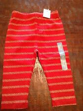 Brand New BABY GAP Red and Yellow Tights / Pants for Girls