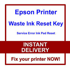 EPSON R280 R285 R290 R295 R300 PRINTER RESET WASTE INK PADS SERVICE ERROR FAULT