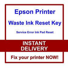EPSON R200 R210 R220 R230 R240 PRINTER RESET WASTE INK PADS SERVICE ERROR FAULT