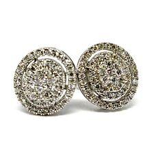 cd1339143c61 Pendientes de joyería con diamantes en oro blanco de 18 quilates SI1 ...