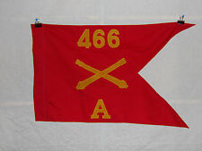 flag366 WW 2 US Army Airborne  Guide on 466th Field Artillery Battery A