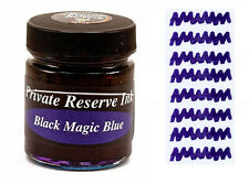 PRIVATE RESERVE - Fountain Pen Ink Bottle - BLACK MAGIC BLUE -  66ml - New