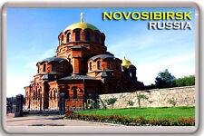 NOVOSIBIRSK RUSSIA FRIDGE MAGNET SOUVENIR LLAVERO