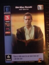 Star Wars Young Jedi TCG Jedi Council Obi-Wan Kenobi Jedi Warrior MINT
