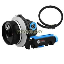 FOTGA DP3000 M3 DSLR Quick Release Clamp Follow Focus for 15mm Rod Rig 5D II III