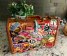 Samsonite Mid-century Vintage Luggage Suitcase with Travel Stickers • Very Nice!
