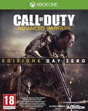 Call Of Duty Advanced Warfare Day Zero Edition XBOX ONE IT IMPORT
