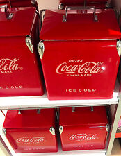 Coca-Cola Coke Retro Cooler. Ice Chest Carrier with Bottle Opener. Free USA ship