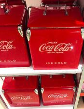 Coca-Cola Coke Retro Cooler. Ice Chest. Carrier with Bottle Opener. Unique Model