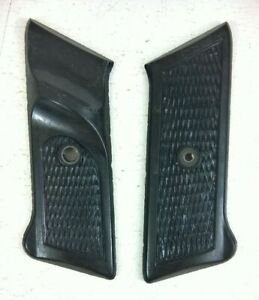 FRENCH ARMY MAT 49 PISTOL GRIPS (BLACK)