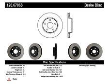 StopTech Disc Brake Premium Rotor for 2007 - 2018 Jeep Wrangler / Wrangler JK