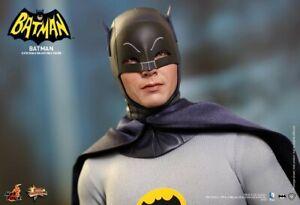 Hot Toys MMS 218 / 1966 Classic TV Batman Adam West 12 inch Figure NEW 👀