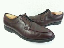 Allen Edmonds Stockbridge Burgundy Leather Split Toe Oxfords | Men's Size 11 D