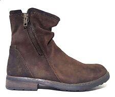 New VADO Kids Boots Girls Narrow Brown LEATHER Size 3 USA/35 EURO.FREE RETURN