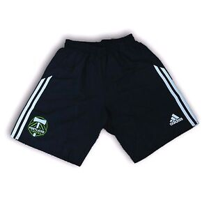 Adidas Portland Timbers Black Color Men's Shorts