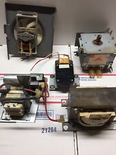 Sharp R-6730 Internal Parts Magnetron Transformer Capacitor Fan