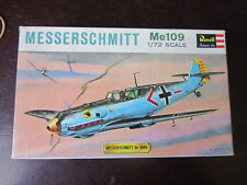 MAQUETTE 1/72 REVELL BOITE VINTAGE 1963 MESSERSCHMITT Me109 MILITAIRE