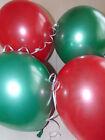 BUON NATALE PALLONCINI IN LATTICE VERDE & Rosso Decorazione natalizia ELIO