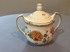 Wedgwood Rosemeade bone china sugar box and lid