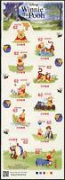 Japan 2018 Disney Winnie the Pooh Comics Musik Tiere Kleinbogen Postfrisch MNH