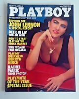 Australian Playboy Magazine *April 1984 *Lynn Eason *Playmate of the Year Issue