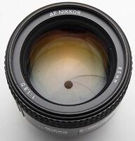 Nikon AF Nikkor 85mm 85 mm 1:1.8 1.8 für analog digital