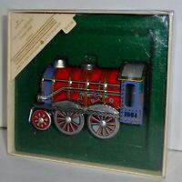 Hallmark Keepsake Christmas Ornament 1984 TIN LOCOMOTIVE Series #3 Train  H15