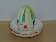 Vintage Porcelain Clown Head Juicer/Reamer-Mikori Ware-Vg Condition