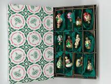 Inge Glas ⭐️⭐️Décorations pour Arbre de Noël 12 Pièces Jusqu'à 6 cm ⭐️⭐️ Neuf