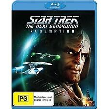 Star Trek The Next Generation Redemption - New/Sealed Blu Ray Region B