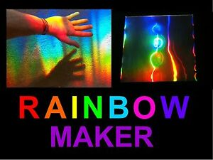 SUN CATCHER / RAINBOW MAKER,Makes GIANT Rainbows Across Your Room Using The Sun!