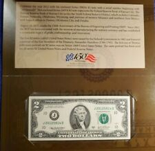 (2012) USA $2 TWO DOLLAR FEDERAL RESERVE KANSAS CITY NOTE BEP UNC