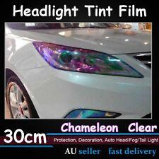 2pcs 30cmx 60cm Chameleon Neo Clear Bar Tint Film Car Headlight Tail Light Sheet