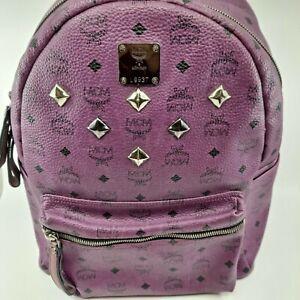 AUTHENTIC MCM  Visetos   Violet  Backpack